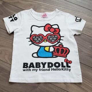 BABYDOLL - ベビードール ハローキティTシャツ