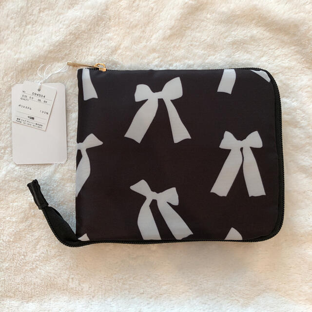 M'S GRACY(エムズグレイシー)のエムズグレイシー 新品未使用 エコバッグ リボン レディースのバッグ(エコバッグ)の商品写真