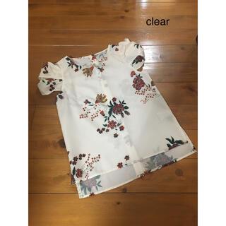 クリア(clear)のシャツ(シャツ/ブラウス(半袖/袖なし))