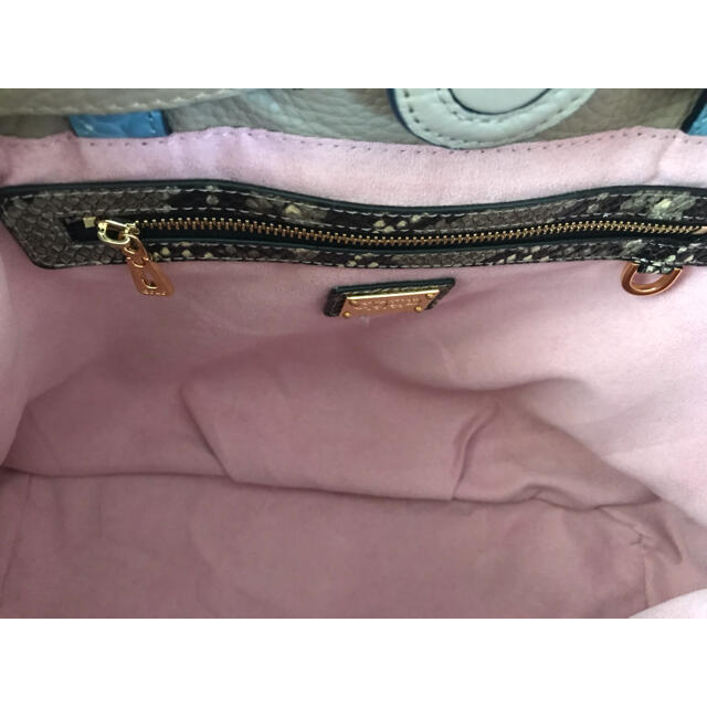mogu mogu さん専用!トートバッグ ココセリュックス ゴールド レディースのバッグ(ショルダーバッグ)の商品写真