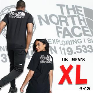 THE NORTH FACE - 欧州限定◆21SS◆ザ ノースフェイス 座標Tシャツ黒 UK XL 日本XL相当