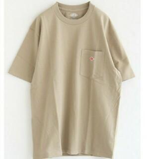 ダントン(DANTON)の新品 DANTON  ダントン tシャツ ベージュ 40(Tシャツ/カットソー(半袖/袖なし))