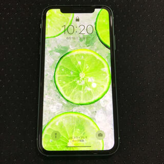 iPhone - iPhone 11 グリーン 128 GB SIMフリー