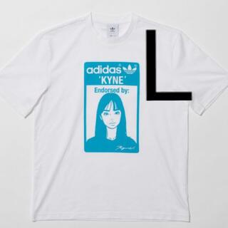 adidas - adidas kyne graphic tee グラフィック Tシャツ L キネ