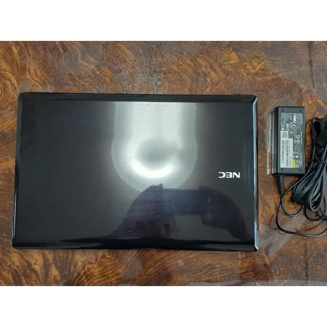 NEC(エヌイーシー)のNECwin10ノートパソコンSSD120GB訳有のため格安!オマケ付き スマホ/家電/カメラのPC/タブレット(ノートPC)の商品写真