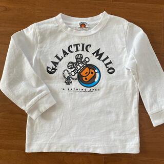 A BATHING APE - ベイプ  Tシャツ ロンT 100