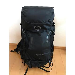 オスプレイ(Osprey)の【美品】オスプレー ケストレル38 S/M ブラック(登山用品)