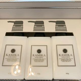 カミカ 黒髪クリームシャンプー KAMIKA 3本セット