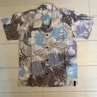 アバクロンビーアンドフィッチ(Abercrombie&Fitch)の新品 アロハシャツ 120 アバクロ ラルフローレン gap 半袖シャツ(Tシャツ/カットソー)