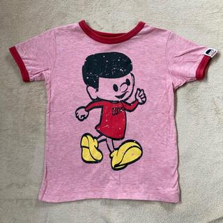 コンベックス(CONVEX)のCONVEX コンベックス Tシャツ 半袖 フロッキープリント 110 (Tシャツ/カットソー)