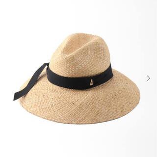 イエナ(IENA)のイエナ  ADRIAN HATS  STEFY RAFIA ハット(麦わら帽子/ストローハット)