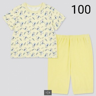 UNIQLO - 【新品未使用】 ユニクロ スヌーピー パジャマ 100