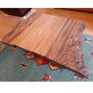 【最終値下げ】天然楠 一枚板 センターテーブル 看板 無垢 くすのき(ローテーブル)
