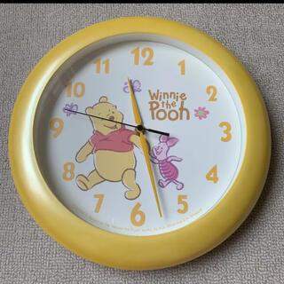 ディズニー(Disney)のプーさん 掛け時計(掛時計/柱時計)