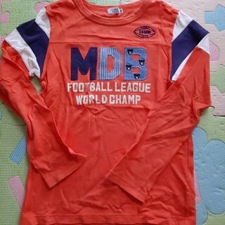 DOUBLE.B - ダブルB オレンジロンTシャツ