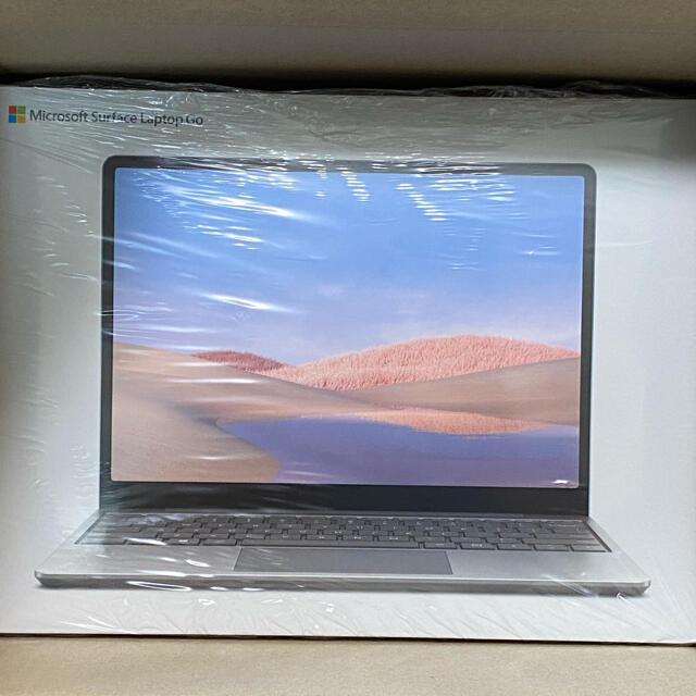 Microsoft(マイクロソフト)の新品未開封 Microsoft Surface Laptop Go  送料込 スマホ/家電/カメラのPC/タブレット(ノートPC)の商品写真