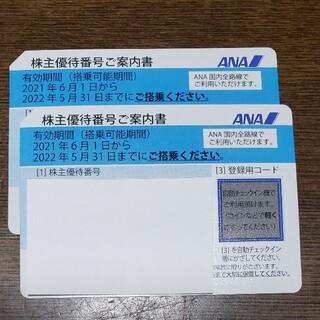 ANA株主優待券 2枚(その他)
