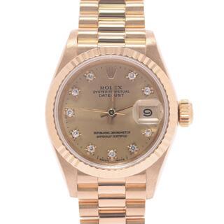 ROLEX - ロレックス  デイトジャスト 10Pダイヤ 腕時計