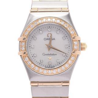 OMEGA - オメガ  コンステレーション ミニ ベゼルダイヤ 12Pダイヤ 腕時計