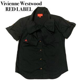Vivienne Westwood - Vivienne Westwood ボウタイシャツ リボン ブラック サイズ2