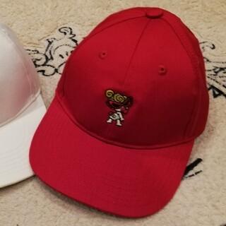 ヒステリックミニ(HYSTERIC MINI)の帽子(赤色)(帽子)