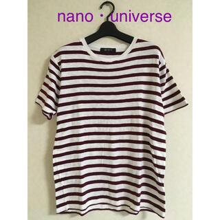 ナノユニバース(nano・universe)のナノユニバース メンズ トップス(Tシャツ/カットソー(半袖/袖なし))