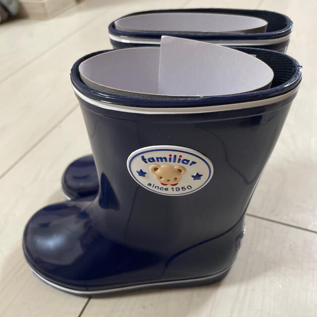 familiar(ファミリア)のファミリア 長靴  キッズ/ベビー/マタニティのベビー靴/シューズ(~14cm)(長靴/レインシューズ)の商品写真