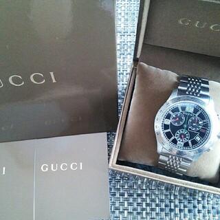 グッチ(Gucci)のGucci グッチ メンズ 腕時計 クラシック クロノグラフ YA126205(腕時計(アナログ))