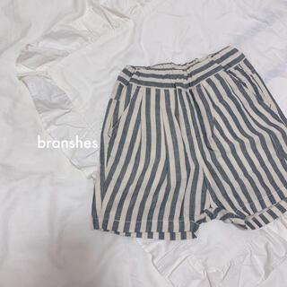 Branshes - ❁⃘ branshes ブランシェス / ストライプ パンツ *100