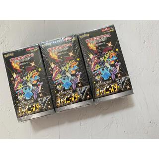 ポケモン(ポケモン)のポケモンカード シャイニースターV 3boxセット(Box/デッキ/パック)