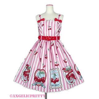 Angelic Pretty - Cherry Stampジャンパースカート
