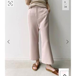 アパルトモンドゥーズィエムクラス(L'Appartement DEUXIEME CLASSE)の☆ Cropped Pants ピンク(クロップドパンツ)