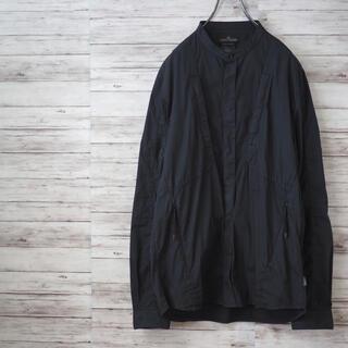 STONE ISLAND - STONE ISLAND SHADOW PROJECT バンドカラーシャツ