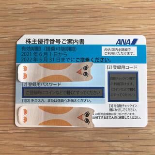 エーエヌエー(ゼンニッポンクウユ)(ANA(全日本空輸))のANA株主優待 1枚(その他)