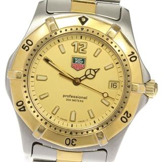 タグホイヤー(TAG Heuer)のタグホイヤー プロフェッショナル  WK1121 クォーツ メンズ 【中古】(腕時計(アナログ))