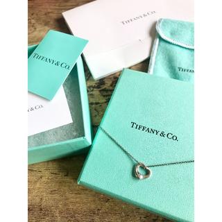 Tiffany & Co. - ティファニー オープンハート ペンダント スターリングシルバー 11mm