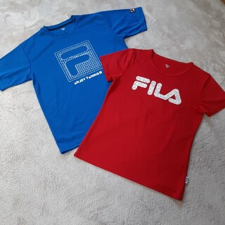 FILA - フィラ テニスTシャツ2枚セット