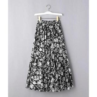 UNITED ARROWS - MARIHA(マリハ)TSUKIKAGE フラワープリント フレアスカート 今季