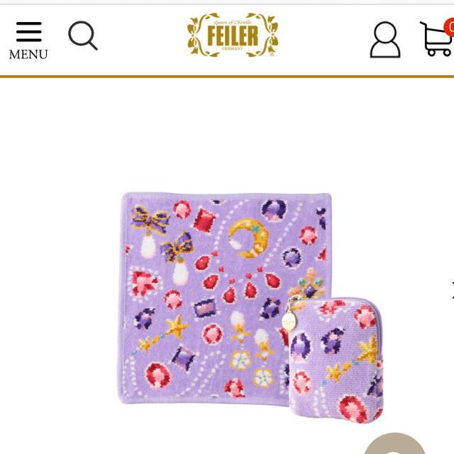 FEILER(フェイラー)のフェイラー ラブラリー 2021年福袋 ポーチ  レディースのファッション小物(ポーチ)の商品写真
