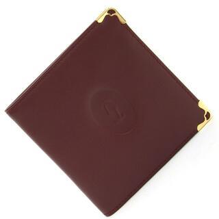 カルティエ(Cartier)の カルティエ 二つ折り財布 マスト 73184192 中古(財布)