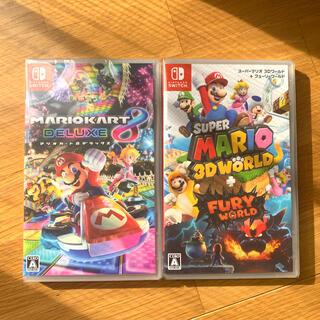 任天堂 - 新品 マリオ 3Dワールド フューリーワールド マリオカート8 デラックス