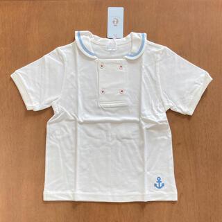 コンビミニ(Combi mini)のコンビミニ 新品 120 カノコTシャツ 半袖 マリン セーラー(Tシャツ/カットソー)