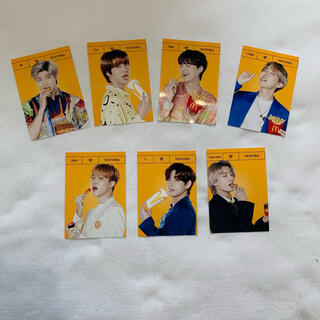 ボウダンショウネンダン(防弾少年団(BTS))のBTS McDonald's コラボ写真(アイドルグッズ)