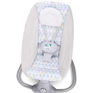 電動バウンサー ベビーラック 枕付き 蚊帳付き 0か月~3歳