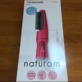 TESCOM - TESCOM マイナスイオンカールドライヤー TIC296ー-P(ピンク)くるく