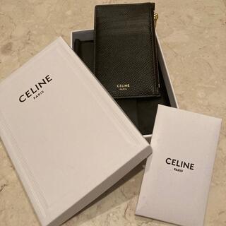 celine - 【1度のみの使用】セリーヌ カードケース ブラック