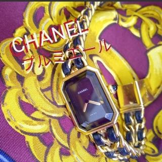 シャネル(CHANEL)の♥CHANELプルミエールLサイズ♥早い者勝ち❢♥電池切れ★買取屋査定11万でし(腕時計)