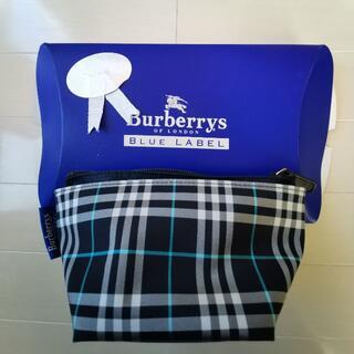 BURBERRY BLUE LABEL - ☆新品未使用☆ 【送料無料】Burberry BLUE LABELポーチ