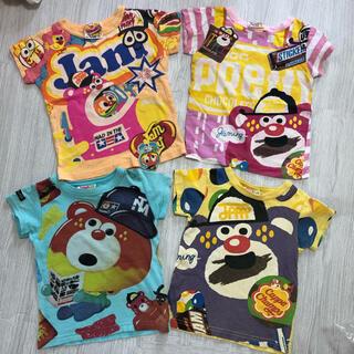 JAM - JAM 100センチ Tシャツ 4枚