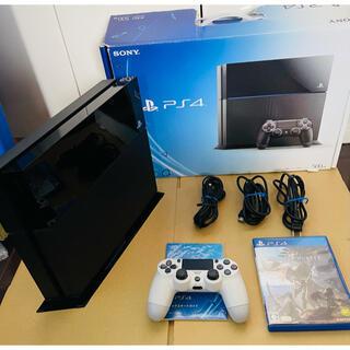 PlayStation4 - SONY PS4 CUH-1100AB01 500GB ブラック 本体 初期化済